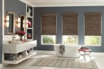 Pasadena Woven Wood Shades Installation